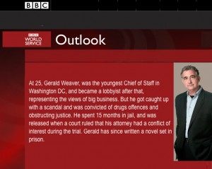 BBC Outlook Gerald Weaver Washington DC